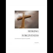 Seeking Forgiveness - A 13 Day Devotional - Cover