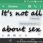 It's not all about sex