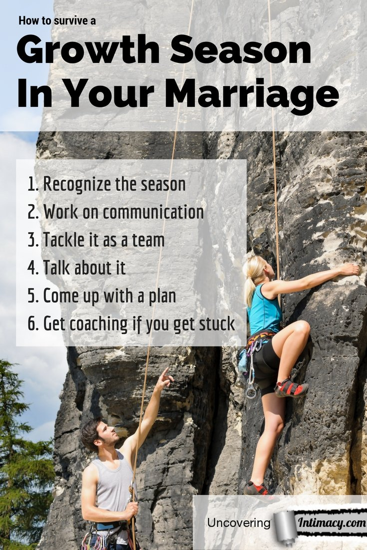 How to survive a growth season in your marriage