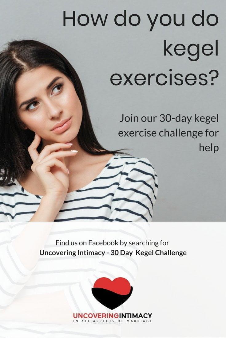 How do you do kegel exercises?